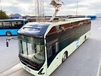 Volvo : un pantographe pour les bus
