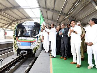 Inde : mise en service totale du métro d'Hyderabad