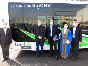 TCL : 56 autobus MAN au BioGNV pour la rentrée