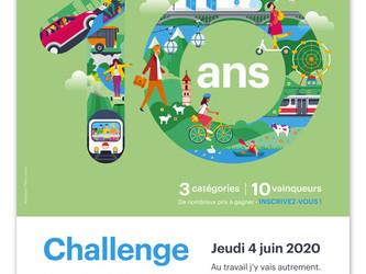 Auvergne-Rhône-Alpes lance un 10e challenge mobilité