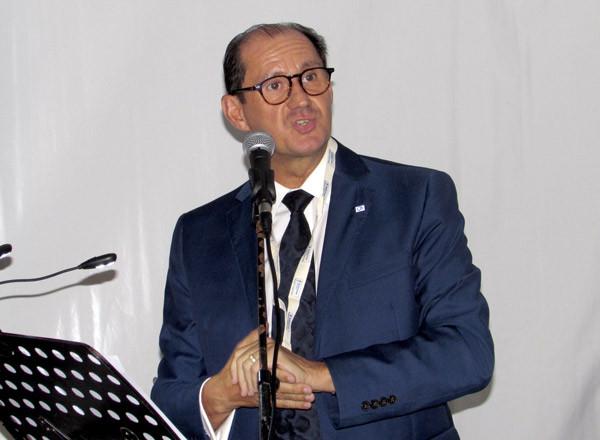 Jean-Pierre Lorente, directeur général de Bleu Voyages - ©Jean-François Bélanger