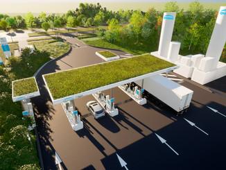 Ile-de-France : une station multi-carburants éco-responsable