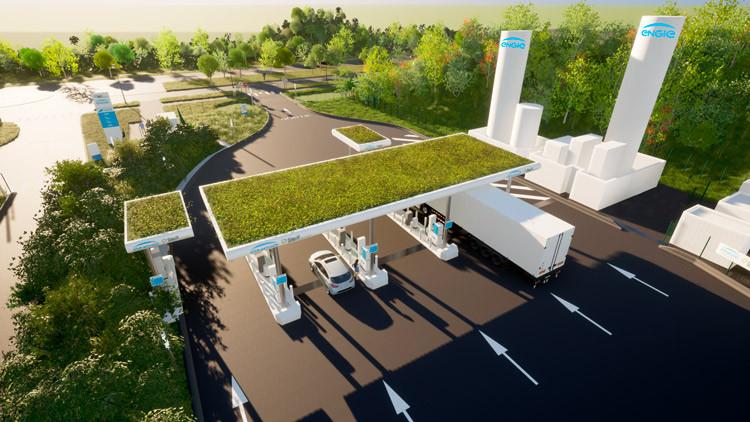 la station de Réau multi-carburants éco-responsable