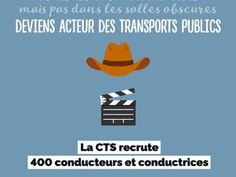 Strasbourg : la CTS recrute 400 conducteurs et conductrices