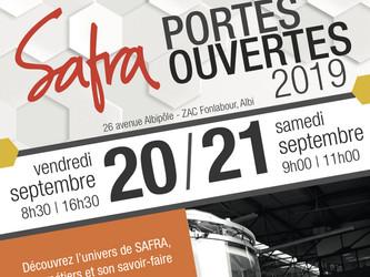 Journées portes ouvertes chez Safra