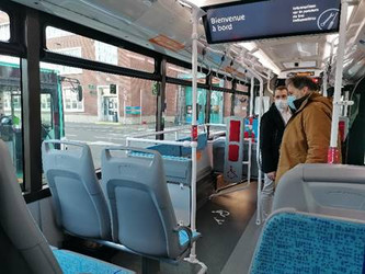 IDFM teste les innovations dans ses bus