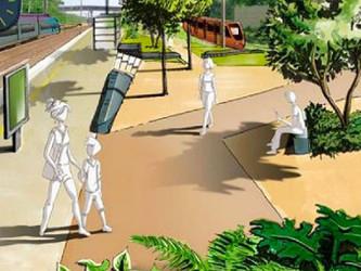 Le Mans Hôpital-Université, future halte urbaine pivot