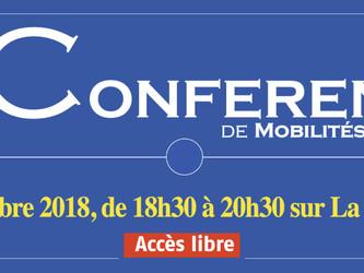 Ne manquez pas, demain, La Conférence de Mobilités Magazine