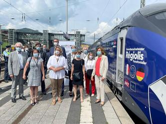 Présentation officielle du Regiolis transfrontalier en Allemagne