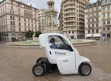 Lyon : Kiwee, dernier né des engins d'autopartage