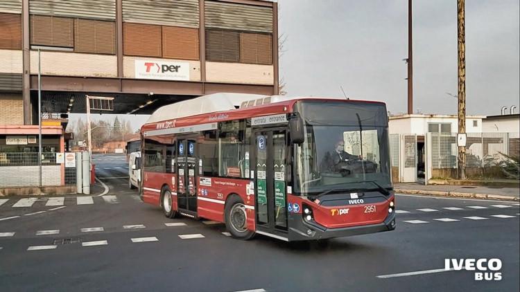 midibus Iveco E-WAY de 9,5 m