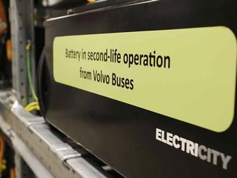 Volvo Buses s'investit dans le recyclage des batteries