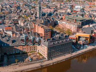 Namur inaugure un téléphérique signé Poma