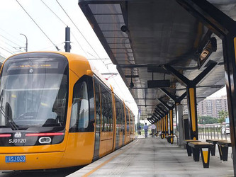 Keolis inaugure le dernier tronçon du tram de Shanghai