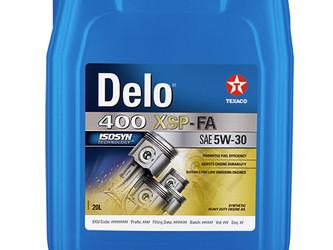 Grand chelem pour l'huile moteur Texaco Delo 400 XP-FA