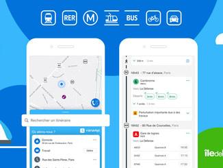 Samsung Pay sur l'application Vianavigo d'Île-de-France Mobilités