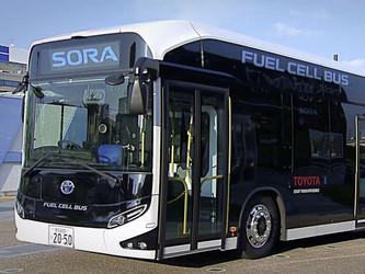 Toyota choisit Siemens Mobility pour ses bus à hydrogène Sora
