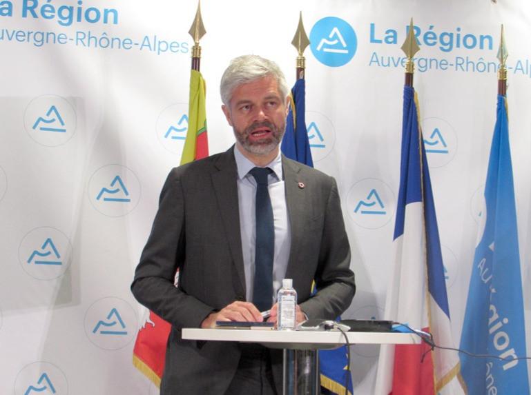 Laurent Wauquiez, Président de la Région Auvergne-Rhône-Alpes