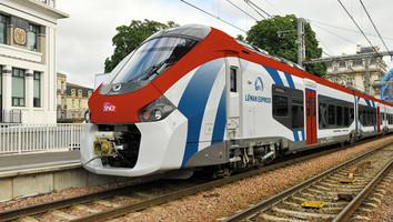 Jonction des rails du CEVA entre Genève et la France