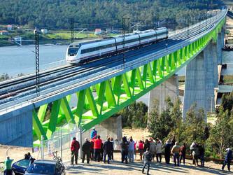 Une nouvelle LGV entre Madrid et la Galice