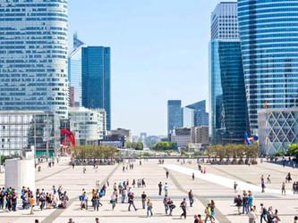 Paris La Défense : modification des habitudes de déplacement