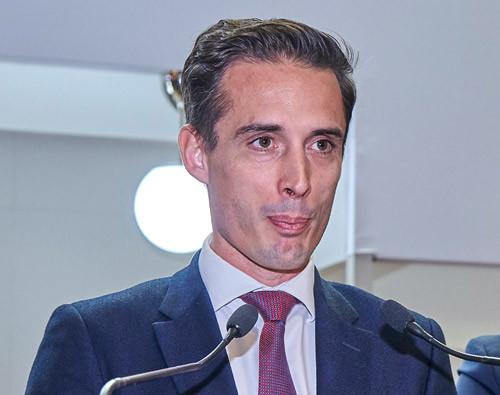Jean-Baptiste Djebbari, ministre délégué chargé  des Transports