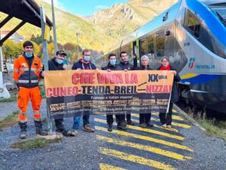 La gare de Tende, coupée de Breil et de Nice, retrouve les trains italiens