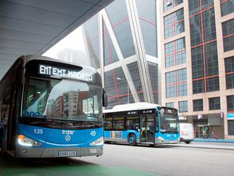 Irizar retenu par EMT à Madrid pour une ligne « Zéro » du réseau