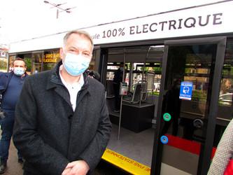 Le trolleybus, véhicule d'avenir du Sytral