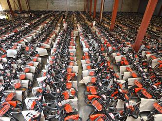 Printemps meurtrier pour les Vélo'v à Lyon