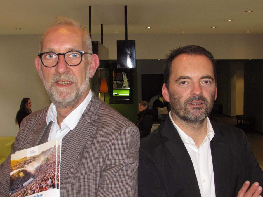 Olivier Sanejouand et Samuel Riblier.
