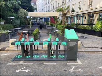 Paris : Charge déploie des stations de recharge pour trottinettes électriques
