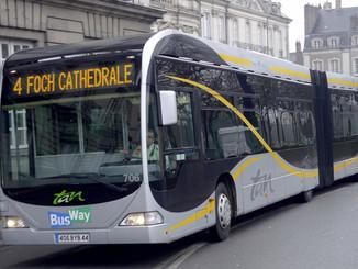 Nantes créé une deuxième ligne de Busway