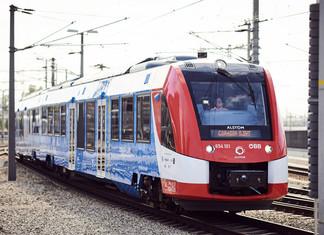 Alstom livre la première rame hydrogène autrichienne