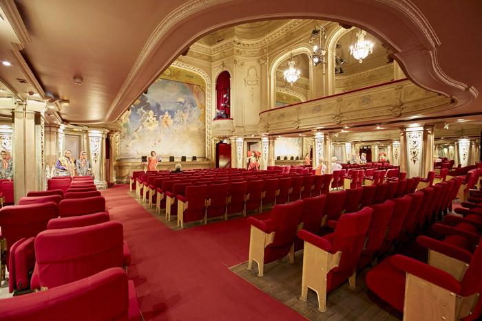 Le théâtre de Grévin Paris. © Stanislas Liban