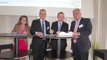 La FNTV Auvergne-Rhône-Alpes signe avec la Région, l'Ademe et GRDF