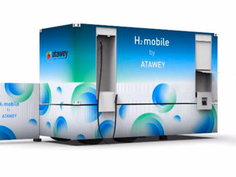 Atawey : nouvelle station mobile hydrogène
