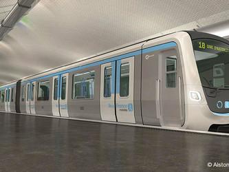 Alstom réalisera la signalisation de quatre lignes du métro parisien