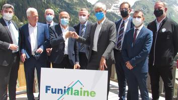 Transport par câble : le Funiflaine est signé