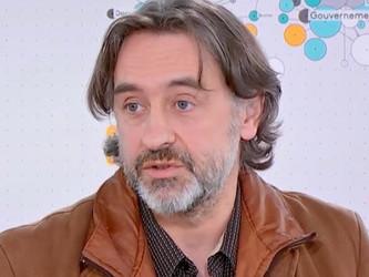 Jean René Delpine, porte-parole de Sud-Rail