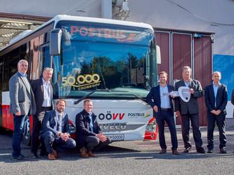 Iveco Bus fête son 50 000e Crossway