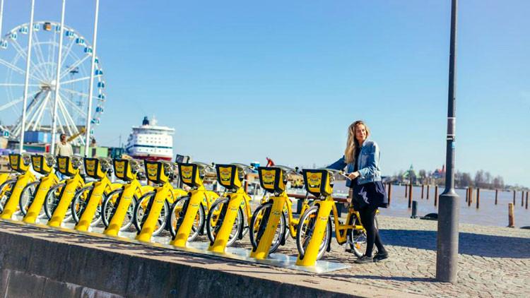 vélos libre service