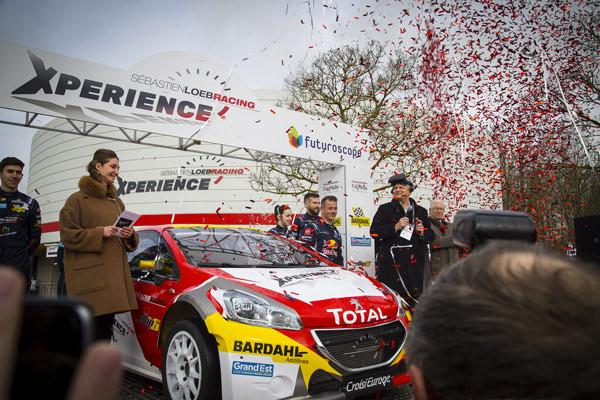 Depuis mars dernier, le Futuroscope propose une nouvelle attraction : « Sébastien Loeb Racing Xperience ». © Futuroscope