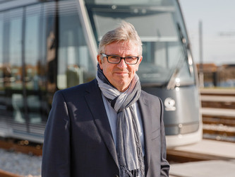 Bruno Guégan, directeur opérationnel Keolis Caen