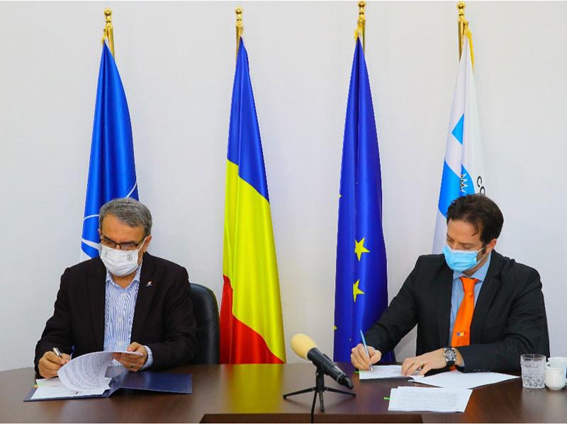 signature commande de bus électriques BYD en Roumanie