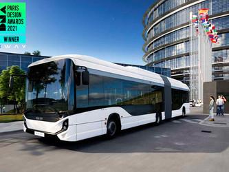 Iveco Bus, lauréat du prix DNA Paris Design Awards 2021