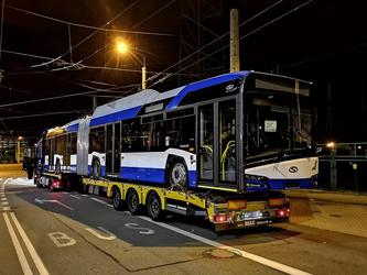 Grand show Solaris sur la scène trolleybus de Gdynia