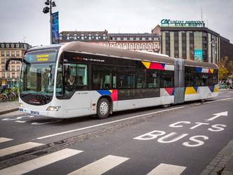 Strasbourg : choix du look des bus électriques en ligne