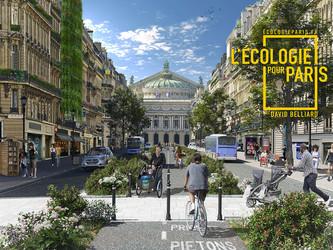 Municipales à Paris : le programme Vert