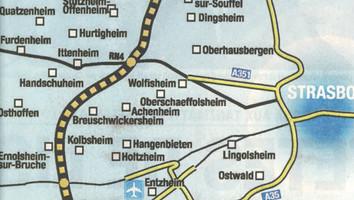 Lancement du grand contournement ouest de Strasbourg